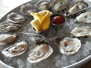 Blue Point Oysters at Shucks Fish House Omaha NE