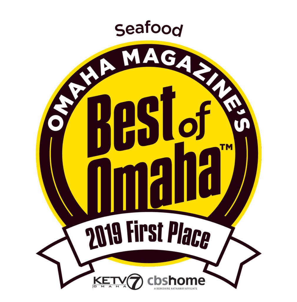 1st Place Winner Best of Omaha Seafood